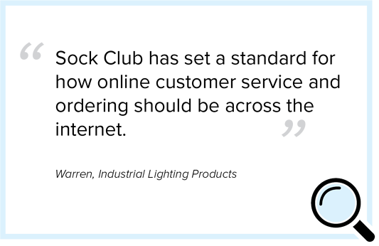 custom socks sock club has set a standard for how online customer service and ordering should be across the internet